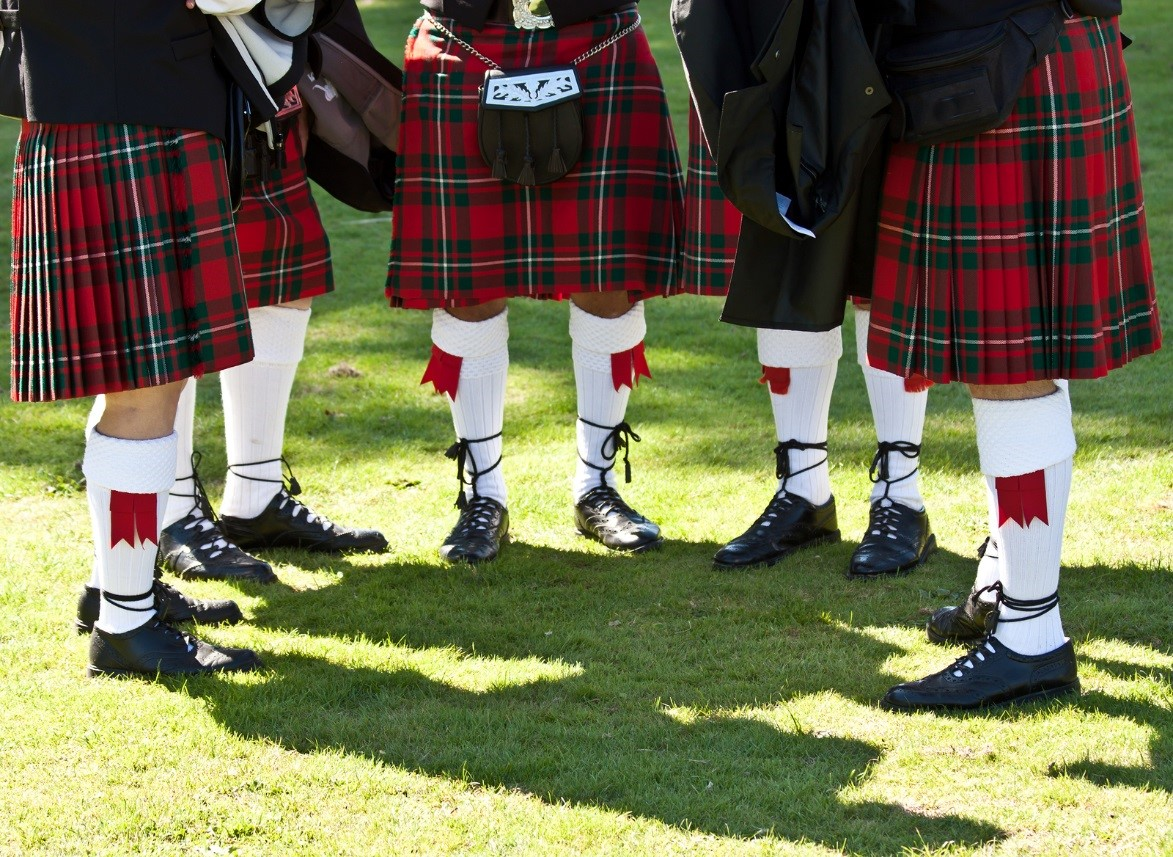 stylish scottish kilts